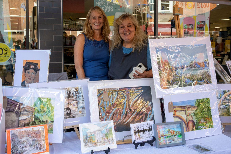 Local artist, Janet McDonagh